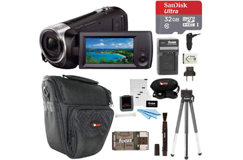 Sony HDR-CX405/B Handycam HD Camcorder