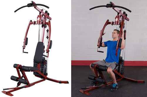 Body-Solid Best Fitness Gear Sportsmans Home Gym