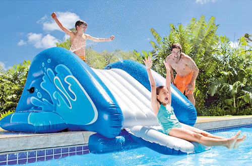 Inflatable Pool Slides
