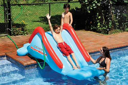Swimline Super Inflatable Pool Slides for Kids and Adults