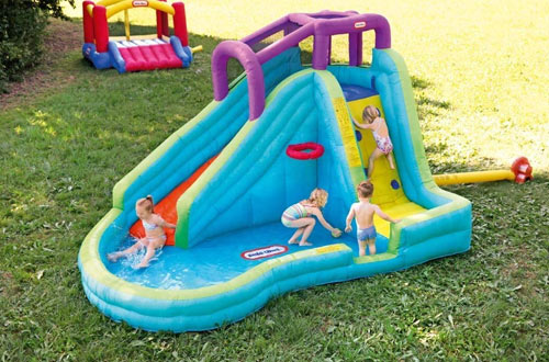 Little Tikes Slam 'n Curve Water Slide