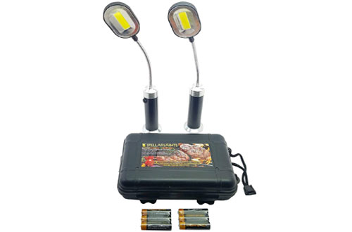 Bright Eyes Magnetic Barbecue BBQ Light Set for Grilling