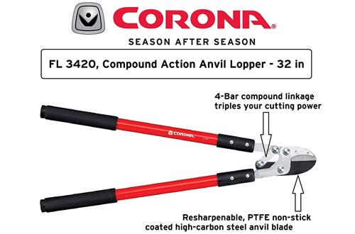 Corona Compound Action 32-Inch Lopper