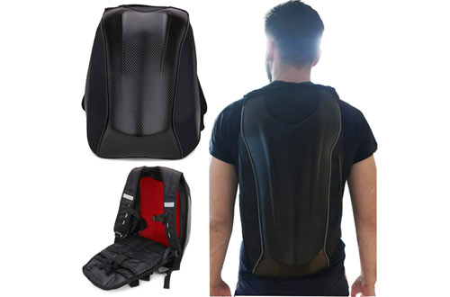 JFG RACING Waterproof Motorcycle Backpack for Travelling Camping Cycling Storage Bag