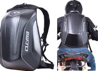 No Drag Molded Motorsports Riding Motorcycle Backpack