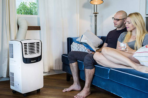 Honeywell Compact Air Conditioner with Dehumidifier and Fan