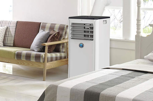 JHS 10,000 BTU Smart Air Conditioner Wi-Fi Floor AC Unit