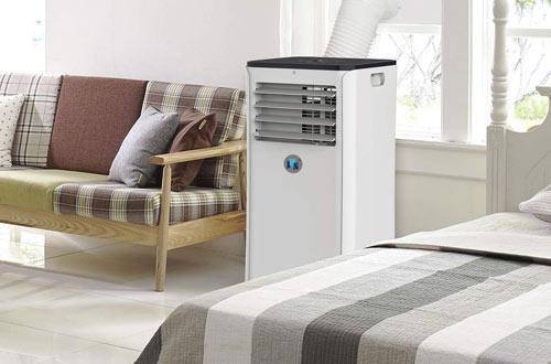 JHS 10,000 BTU Smart Air Conditioner Wi-Fi Floor AC Unit