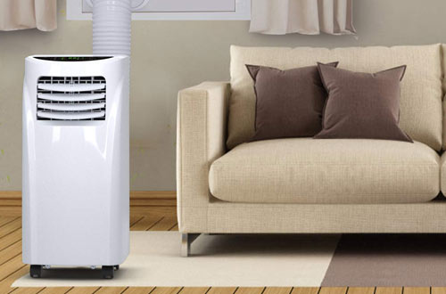 COSTWAY 10000 BTU Air Conditioner Unit with Remote Control