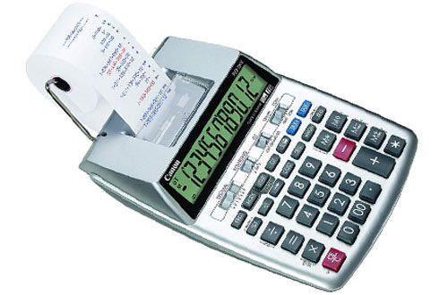 Canon P23-DHV-3 Printing Calculator with Double Check Function