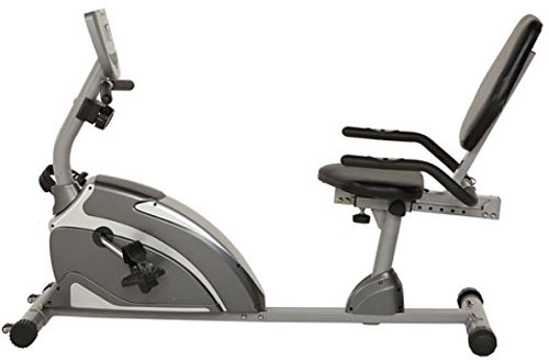 Exerpeutic 1000 High Capacity Magnetic Recumbent Bike with Pulse