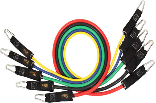 Resistance Bands Setwith Handles, Legs Ankle Straps & Door Anchor
