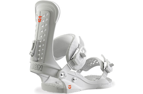 Union Force White Snowboard Bindings for Men