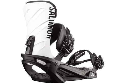 Salomon Rhythm Black/White Snowboard Bindings