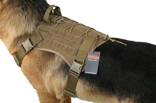 EXCELLENT ELITE SPANKER Tactical Service Dog Vest