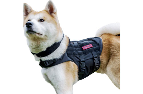 OneTigris K9 Tactical Dog Harness for Small, Medium and Large Dogs