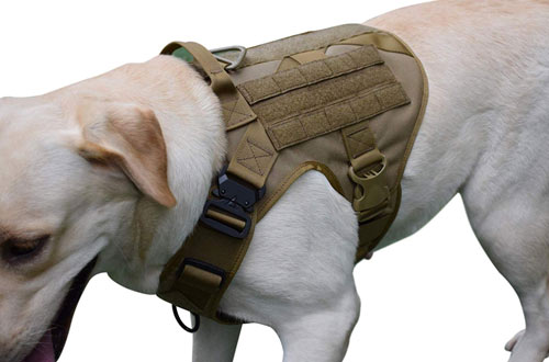 SHI RUI Tactical Military Police Dog Vest