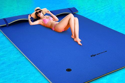 Goplus Floating Water Pad Foam Matfor Pool, Beach, Ocean & Lake