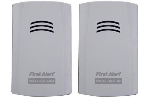 First Alert WA100-3 Water Alarm for Leak Detectionand Flood Alerts