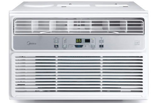 MIDEA MAW08R1BWT 8000 BTU Easycool AC Window Air Conditioner