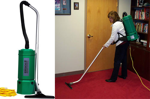 Bissell BigGreen Commercial BG1006 Backpack Vacuum