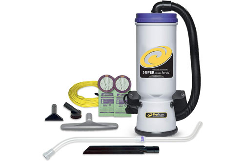 ProTeam CoachVac Backpack Vacuum Cleaner with HEPA Media Filtration