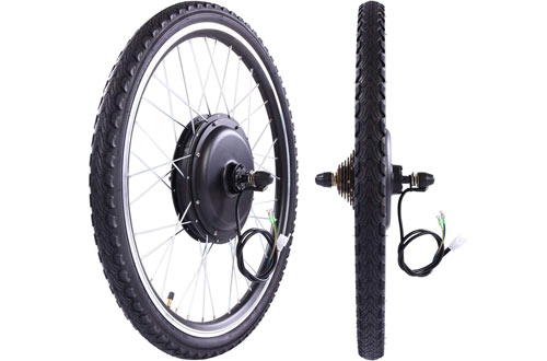 "LAZYMOON 26"" Rear Wheel 48V 1000W Electric Powered Bicycle Motor"
