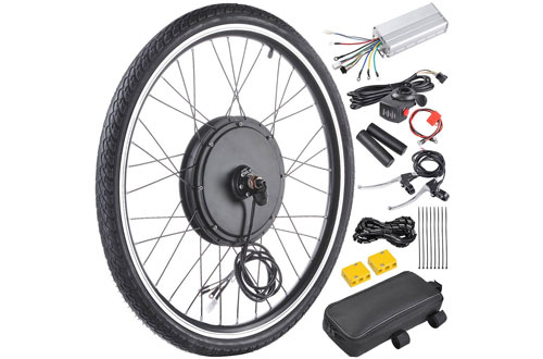 "AW 48V 1000W 26"" Front Wheel Electric Bicycle Motor Kit"
