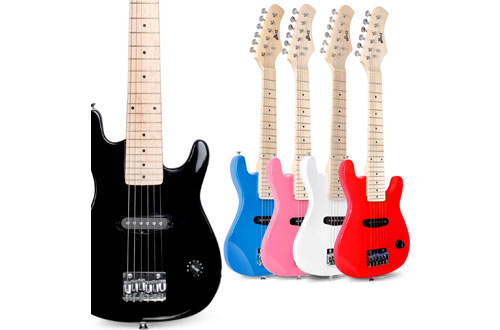 WINZZ 30-Inch Real Kids Electric Guitar with Beginner Kit