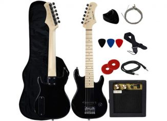 YMC Stedman Pro 30-Inch Kids Electric Guitar