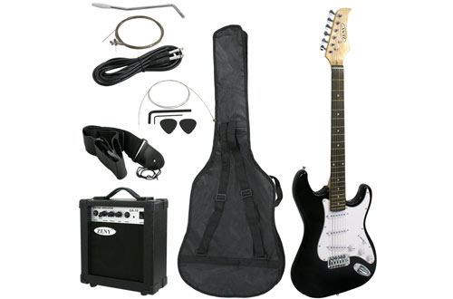 """ZENY 39"""" Full-Size Beginner Electric Guitarwith Amp & Case"""