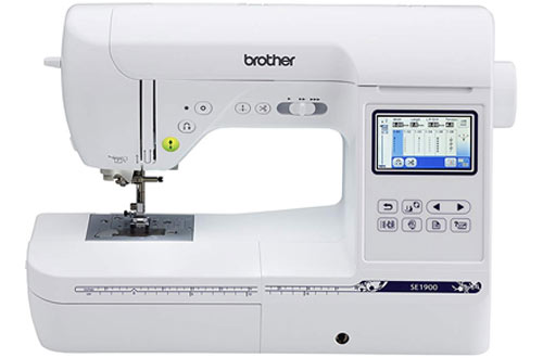 Brother Computerized Sewing and Embroidery Machine - SE1900