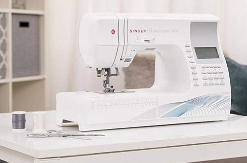 Quantum Stylist Portable Computerized Sewing Machine