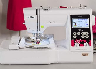 Brother Built-In Embroidery Machine PE550D