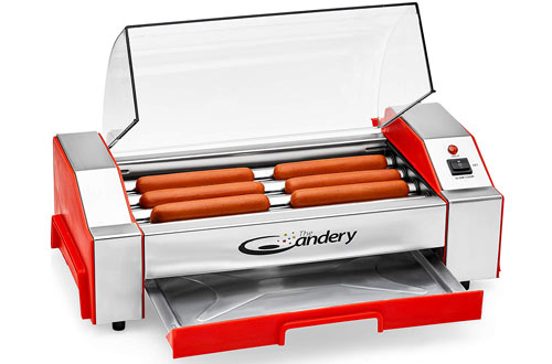 The Candery Hot Dog Roller Machine