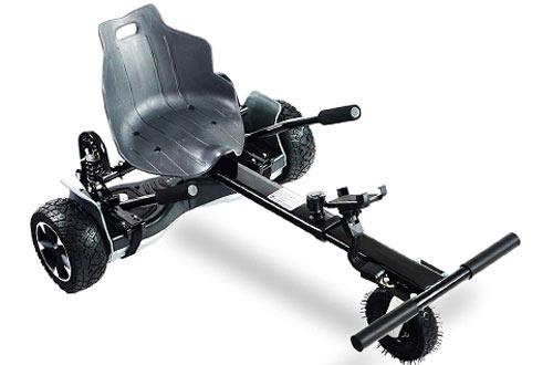 AUBESTKER Hoverboard Go Kart for Kids & Adults