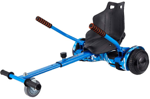 Top 10 Best Hoverboard Go Karts with Seat Attachment Reviews In 2019