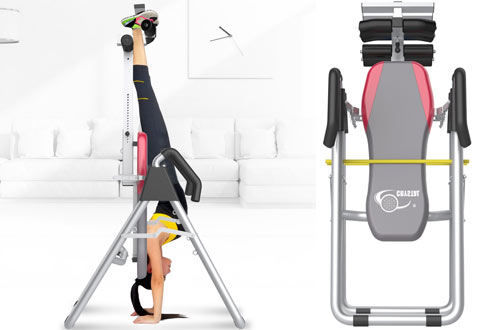 Ainfox Heavy Duty Inversion Table for Relief of Back Pain Safety Support