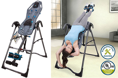 Teeter FitSpine X-Series Inversion Table for Back Pain Relief Kit