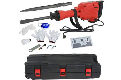 F2C 2200W Electric Demolition Jack Hammer Took Kit