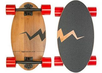Eggboards Mini Bamboo Wood Longboard Cruiser Skateboards