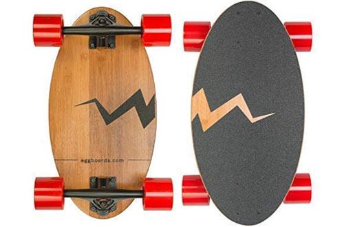 Eggboards MiniBamboo WoodLongboard Cruiser Skateboards