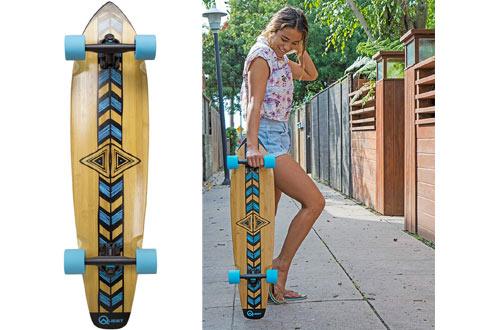Quest Totem 36-Inch Longboard Skateboard