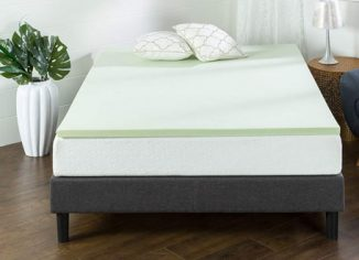 Zinus Green Tea Full Memory Foam Mattress Topper