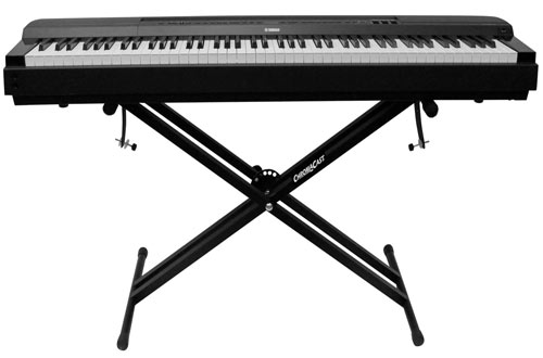 ChromaCast CC-KSTAND Double X-Style Keyboard Stand with Locking Straps