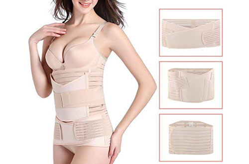Hip Mall 3 in 1 Girdle Support Recovery Belly Band