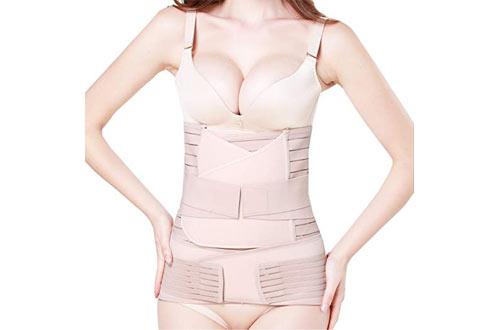 TiRain Postpartum Support Wrap forRecovery Belly, Waist & Pelvis Belt Shapewear