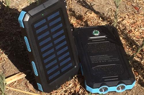 TAVLAR Waterproof 500000mAh USB Solar Battery Charger Power Bank