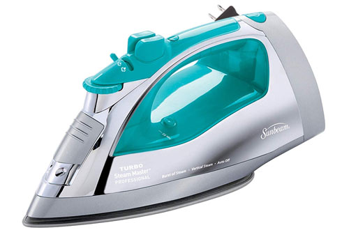 Sunbeam Steammaster Large Anti-Drip Nonstick Stainless Steel Steam Iron