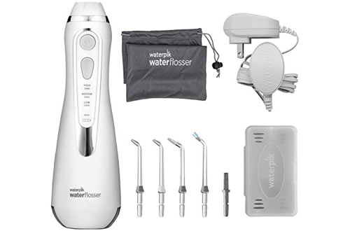 Waterpik WP-560 White Water Flosser for Travel & Home